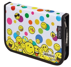 Herlitz Pencil Case 19Pcs Smiley World Rainbow Faces