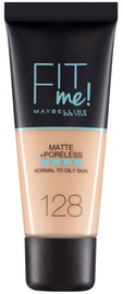 Maybelline Fit Me Matte + Poreless Foundation 30ml 128 Warm Nude