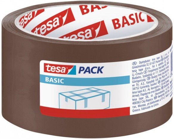 Tesa Strong Packaging Tape 66m Brown