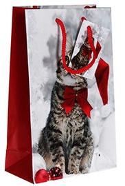 Verners Gift Bag Christmas Cat 389701