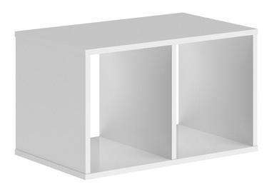 Riiul Skyland XOS 700 White, 70x43x41.4 cm