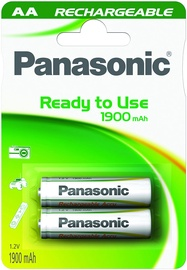 Panasonic Evolta P-6E rechargeable battery 2 x AA 1900mAh