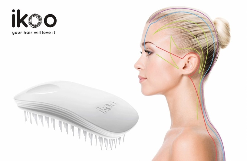 Ikoo Metallic Pocket Brush Soleil White