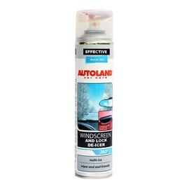 Autoland Windscreen And Lock De-Icer 0.4l