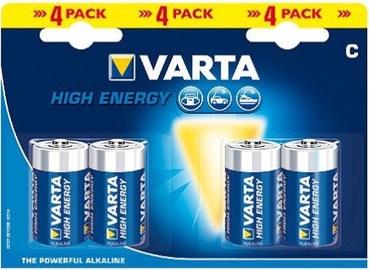 Varta C 2 LR14 Alkaline Battery 4x