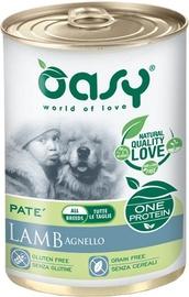 Oasy Wet Adult All Breeds Lamb 400g