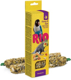 Mealberry Rio Sticks For Parakeets Honey & Nuts 2x75g