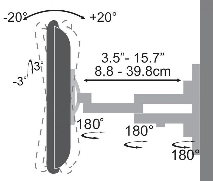 Sbox LCD Wall Mount 23-55''