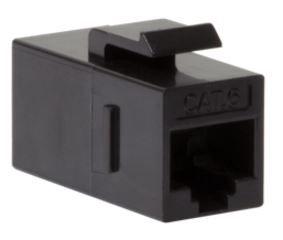 LogiLink Keystone Inline Coupler CAT6 UTP RJ45 x2