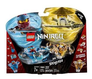 Konstruktor Lego Ninjago Spinjitzu Nya & Wu 70663
