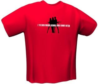 GamersWear Schoolgirl T-Shirt Red L