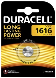 Duracell Long Lasting Power Lithium Tablet Battery CR1616