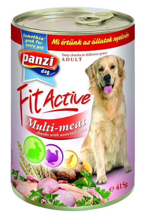 Koerakonserv Panzi Fit Active Multi-meat, 415 g
