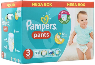 Mähkmed Pampers Pants, 3, 120 tk