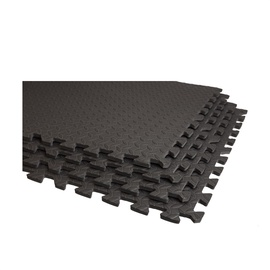VirosPro Sports Exercise Mat 120x120cm Black LS3259B