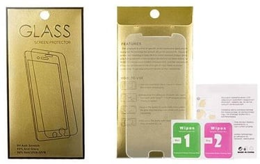 Gold Tempered Glass Screen Protector For Samsung Galaxy A41
