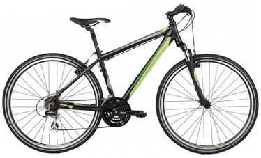 "Jalgratas Kross Evado 2.0 M 28"" Black Lime Matte 17"