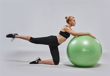 Head Exercise Ball 85cm Green