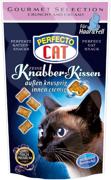 Perfecto Cat Knabber-Kissen Hair & Fur 50g