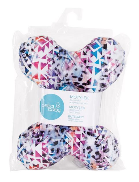 Ceba Baby Butterfly Pillow For Babies Impreso Multi