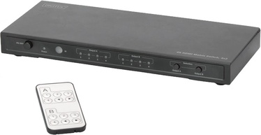 Digitus DS-50304 HDMI Matrix Switch 4x 2 Port with Audio Extractor
