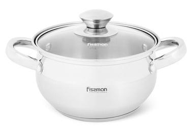 Fissman Prime Pot With Glass Lid 1.3l