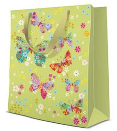 Paw Decor Collection Gift Bag Butterflies Around 17x6x17cm