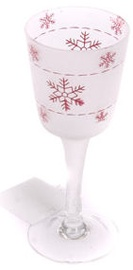 Verners Candle Holder 7x17.5cm White