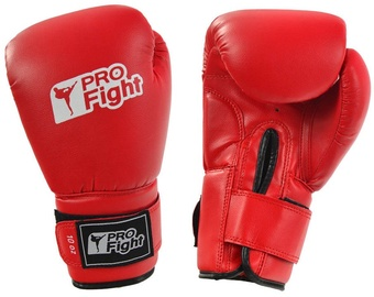 ProFight Skin Dragon Boxing Gloves Red 10oz