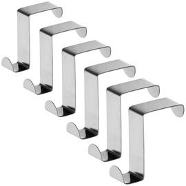 Tatkraft Seger Over Room & Cabinet Doors Hooks 6pcs