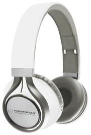 Esperanza EH159 Freestyle Audio Stereo Headphones White