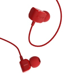 Remax RM-502 Comfort Shape Headset Mic/Answer Call Red