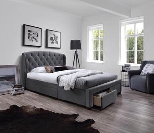 Кровать Halmar Sabrina Grey, 160 x 200 cm