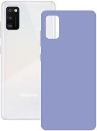 Ksix Silk Back Case For Samsung Galaxy A41 Lavender