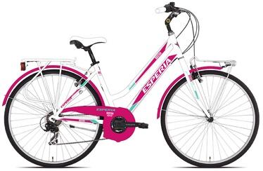"""Jalgratas Esperia Donna, valge/roosa, 17.5"""", 28"""""""