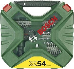 Bosch X-Line Titanium Set 54pcs