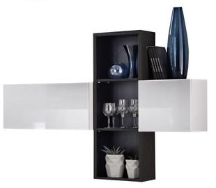 ASM Blox SB I Hanging Cabinet Set White/Black