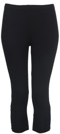 Bars Womens Trousers Black/Blue 92 M