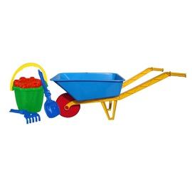 SN Sandbox Toy Wheelbarrow With 5 Accessories