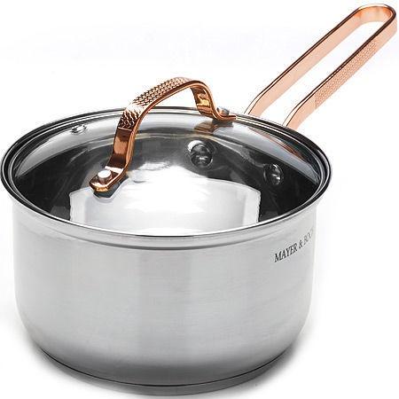 Mayer&Bock Saucpan With Lid D16cm 1.9l Silver
