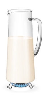 Tescoma Teo Refrigerator Pitcher For Hot And Cold Drinks 1l