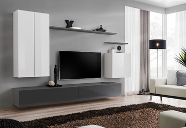 ASM Switch II Wall Unit White/Graphite