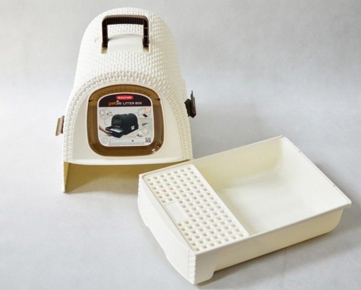 Curver Box With Lid For Cat Litter 51x38,5x40cm Cream