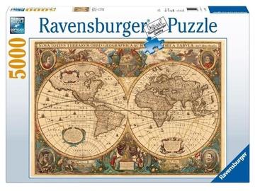 Ravensburger Puzzle Antique World Map 5000pcs
