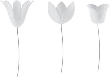Umbra Bloomer Wall Decor White