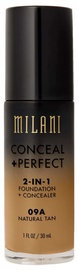 Milani Conceal + Perfect 2in1 Foundation + Concealer 30ml 09A