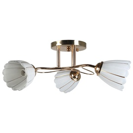 Stefan Ceiling Lamp E14 3x40W Gold