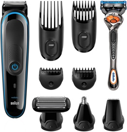 Braun Multi Grooming Kit MGK3085 Black + Gillette Fusion5 ProGlide Razor