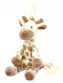 My Teddy Giraffe Hanger With Music Creme