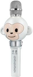 Forever AMS-100 Karaoke Microphone White